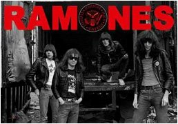 The Ramones Poster Flag Band Photo Tapestry
