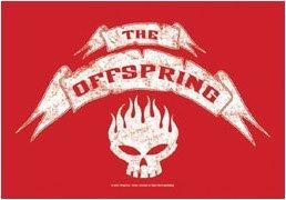 The Offspring Poster Flag Skull Logo Tapestry