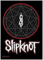 Slipknot Poster Flag Pentacle Logo Tapestry