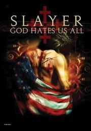 Slayer Poster Flag God Hates Us All Tapestry