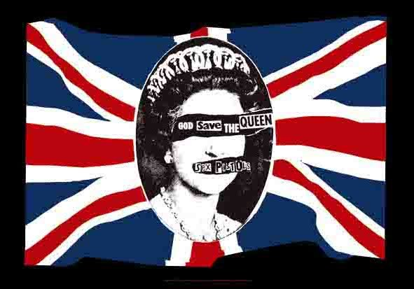 Sex Pistols Poster Flag God Save the Queen Tapestry