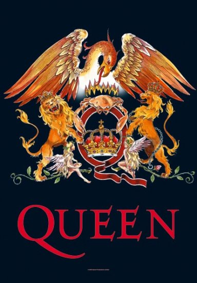 Queen Poster Flag Crown Logo Tapestry