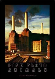 Pink Floyd Poster Flag Animals Tapestry