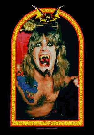 Ozzy Osbourne Poster Flag Diary Of A Madman Tapestry