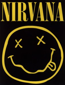 Nirvana Poster Flag Smiley Face Tapestry
