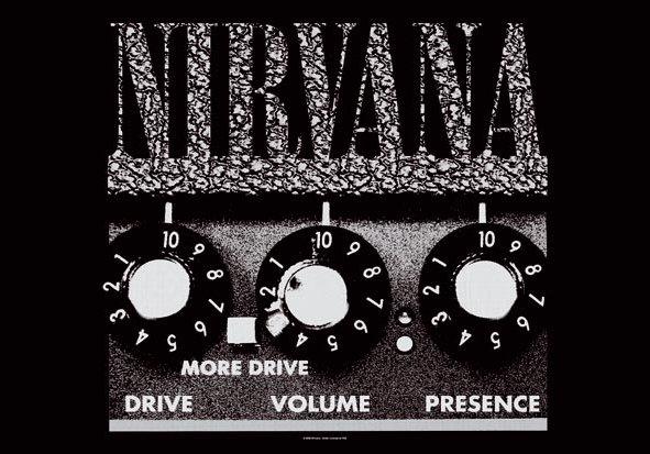 Nirvana Poster Flag Amp Logo Tapestry