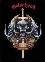 Motorhead Poster Flag Skulls Sword Tapestry