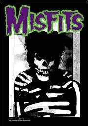 Misfits Poster Flag Skeleton Bones Tapestry