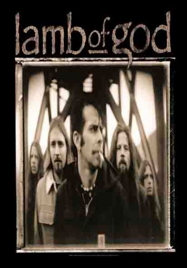Lamb of God Poster Flag Band Photo Tapestry