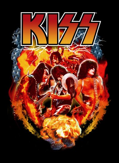 Kiss Poster Flag Special Effects Tapestry