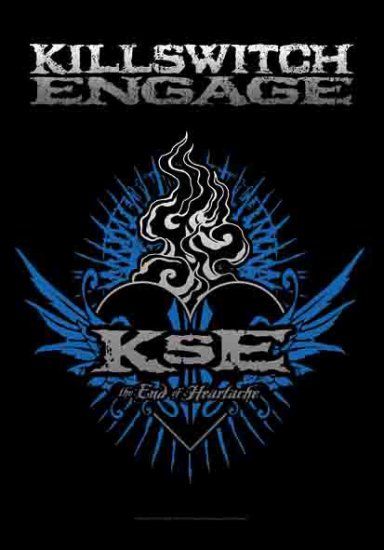 Killswitch Engage Poster Flag End of Heartache Tapestry