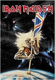 Iron Maiden Poster Flag World Tour 1982 Tapestry