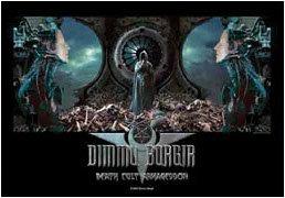 Dimmu Borgir Poster Flag Death Cult Tapestry