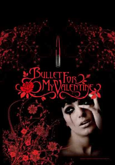 Bullet for my Valentine Poster Flag Tears Don't Fall Tapestry