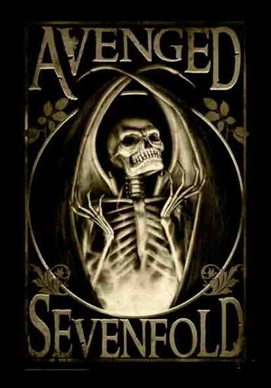 Avenged Sevenfold Poster Flag Scorched Tapestry