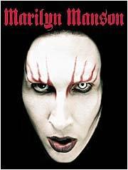 Marilyn Manson Poster Flag Head Shot Tapestry