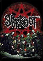 Slipknot Poster Flag Pentagram Band Photo Tapestry