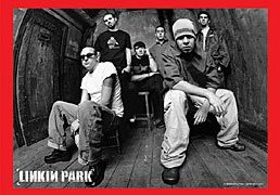 Linkin Park Poster Flag B/W Band Photo Tapestry