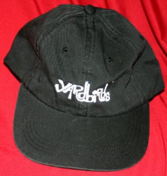 Yardbirds Hat Letters Logo Black One Size Fits All