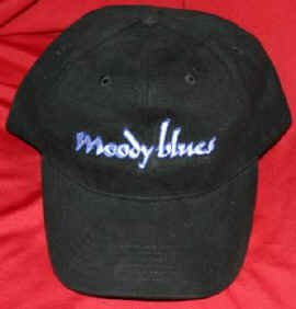 Moody Blues Hat Letters Logo Black One Size Fits All