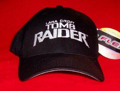 Tomb Raider Hat Eye Logo Black Size Large XL