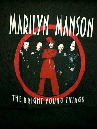 Marilyn Manson T-Shirt Bright Young Things Black Size XL