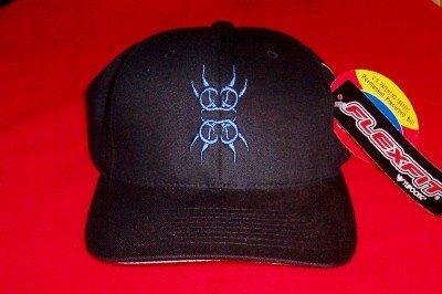 Spine Shank Hat Blue Logo Black Size Large XL
