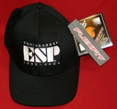 ESP Guitars Hat Cap 25th Anniversary Black Size Small Medium