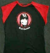 Sugar Hiccups Evil Genius Babydoll Shirt Size Large