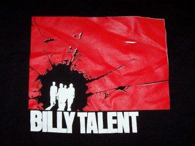 Billy Talent T-Shirt CD Cover Logo Black Size Medium