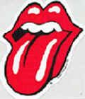 Rolling Stones Vinyl Sticker Classic Red Tongue Logo