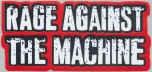 Rage Against the Machine Vinyl Sticker Small Red Logo