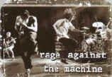 Rage Against the Machine Vinyl Sticker Live Jumping