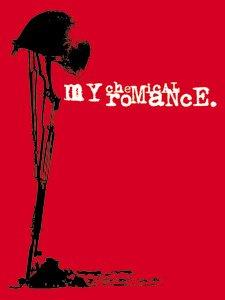 My Chemical Romance Vinyl Sticker Helmet Rifle Logo
