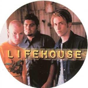 Lifehouse Vinyl Sticker Circle Logo