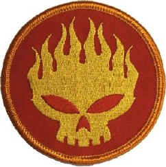 The Offspring Iron-On Patch Skull Logo