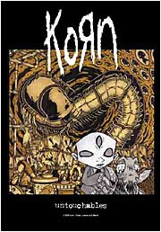 Korn Poster Flag Laboratory Untouchables Tapestry
