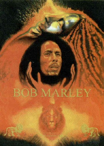 Bob Marley Poster Flag Reminiscence Tapestry