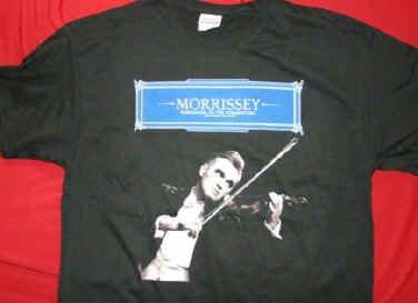 Morrissey T-Shirt Ringleader Black Size Large