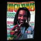 Stephen Marley High Times T-Shirt Black Medium Reggae