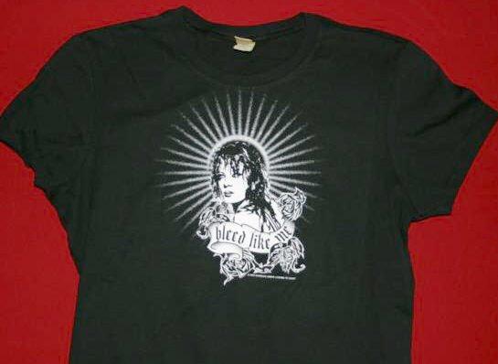 Garbage Babydoll T-Shirt Bleed Like Me Black Large