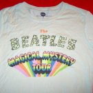Beatles Babydoll T-Shirt Magical Mystery Tour Size XS