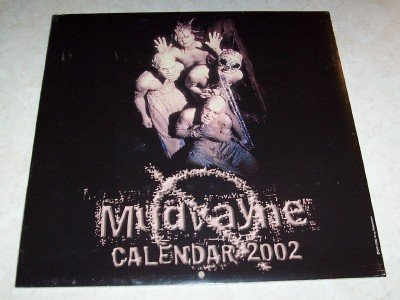 Mudvayne 2002 Concert Tour Calendar Photos New