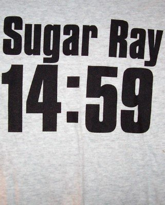 Sugar Ray T-Shirt 14:59 Logo Gray Size XL New