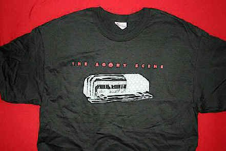 Agony Scene T-Shirt Cofiin Logo Black Size XL New