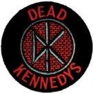 Dead Kennedys Iron-On Patch DK Brick Logo Punk New