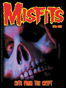 Misfits Vinyl Sticker Cuts from the Crypt Punk New