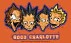 Good Charlotte Vinyl Sticker Cartoon Band Logo New