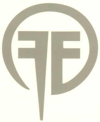 Fear Factory Vinyl Cut Sticker Gray Ff Logo New