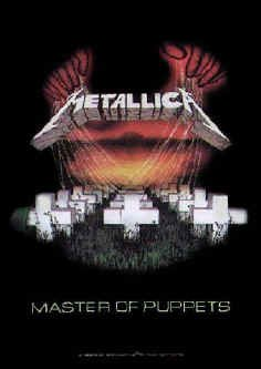 Metallica Poster Flag Master Of Puppets Tapestry